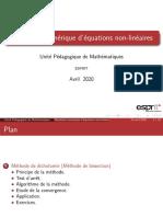 Partie02 Méthode de Dichotomie