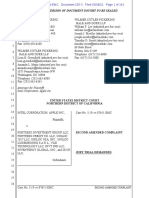 21-03-08 Redacted Version of Second Amended Complaint by Apple Intel v. Fortress (N.D. Cal.)