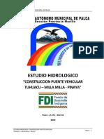 Hidrologia Palca