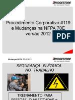 Qualificados NFPA 70E Completo (REVISADO VISÃO E AÇÃO) - Versão 2012