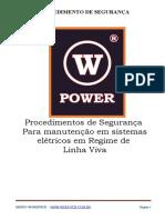 Procedimento de Segurança W-Power