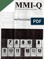 Instrucciones Rummi-Q en Español