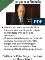 Peter Berger - Seminário  - Slides