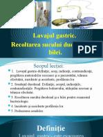 PPT Lavaj Gastric.sondaj Duodenal