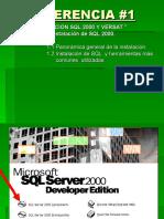 Instalacion SQL