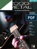 Guitar Play-Along Vol. 50 - 2000s Metal