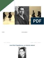 Aprendamos de los Campeones Mundiales - José Ráúl Capablanca (1)