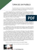 CUENTO(la historia de un pueblo