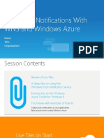 Delivering Windows 8 Push Notifications