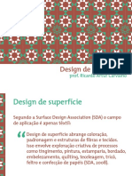Design de superfícies