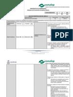 Propositos de Aprendizaje (Analisis Derivativo de Funciones -AIND03-)