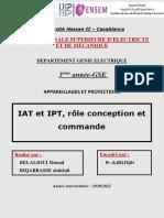 Rapport_ IAT et IPT , role conception et commmande (test)
