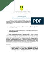 Comunicado 001 - SISTEMA DE DISPUTA CAXA 2021