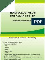 2. Terminologi Medis sistem otot