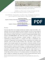 A. SENSIBILIDADE TOPOGRÁFICA EM ÁLVARO SIZA Livia Moraes Nóbrega