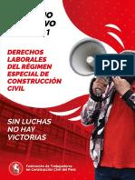 Derechos Laborales del Regimen Especial de Construcción Civil 2020-2021