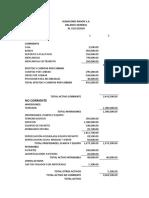 EJERCICIO  EVALUATIVO EDO SITUACION FINANCIERA (1)