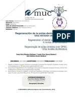 Regeneración de la pulpa dental ( 2020 Rodriguez)