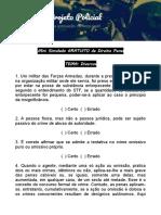 MINI SIMULADO - DIREITO PENAL - PROJETO POLICIAL.pdf
