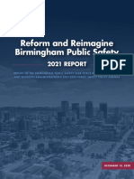 Reform And Reimagine Birmingham Public Safety