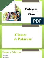 Classes Das Palavras