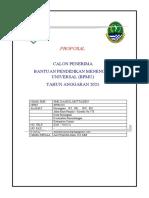 Proposal Permohonan BPMU