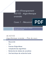 1-M3103-Algorithmique_avancee-Recursivite
