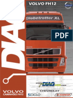 Caminhões Volvo FH Motores D12C e D12D