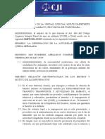 modelo impugnacion multas