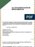 PROTOCOLO DE DOSIFICACIÓN DE MEDICAMENTOS