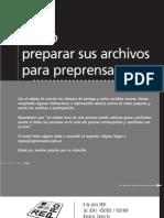 Preparacion de archivos