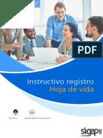 Manual Registro de Hoja de Vida en El SIGEP II