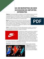 Estrategia de Negocio de Nike