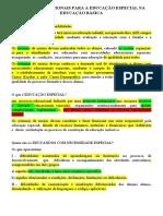 Diretrizes Nacionais Para a Educação Especial Na Educação Básica_fichamento