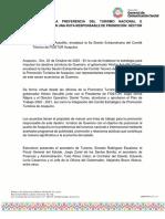 02-10-2020 ACAPULCO EN LA PREFERENCIA DEL TURISMO NACIONAL E INTERNACIONAL CON UNA RUTA RESPONSABLE DE PROMOCIÓN- HÉCTOR ASTUDILLO