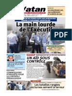 Journal EL Watan du 28 Juillet 2020