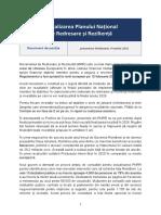 Document de Pozitie PNRR - Ministerul Investiţiilor şi Proiectelor Europene