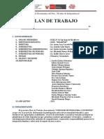 PLAN DE TRABAJO PRIMAVERA-JUVENTUD 2021