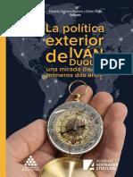 LA POLÍTICA EXTERIOR DE IVÁN DUQUE-UNA MIRADA DE SUS DOS PRIMEROS AÑOS