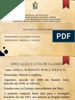 Apresentação Aníbal Ponce Slides