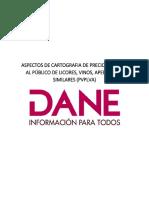 6. ASPECTOS DE CARTOGRAFIA DE PRECIO DE VENTA AL PÚBLICO DE LICORES