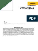 Manual - VT 650