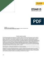 Manual - ESA 615