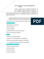 BANCO DE PREGUNTAS ECOLOGIA Y LEGISLACIÓN AMBIENTAL