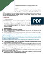Orientações Gerais Do Trabalho Pedagógico - Ced 01 - Itapoã