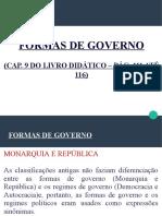 Aula 08 - Formas de Governo (1)