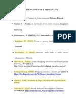 FONTI BIBLIOGRAFICHE E SITOGRAFIA1