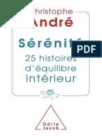 Christophe Andre - Serenite_ 25 histoires d'equilibre interieur