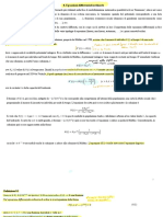 Equazioni differenziali;