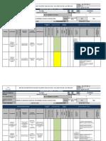 Matriz de identificación de peligros, evaluación y valoración de los riesgos